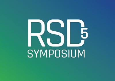 RSD5 symposium green modern banner