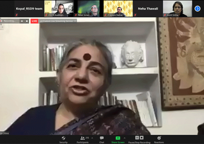 RSD9 keynote speaker Vandana Shiva